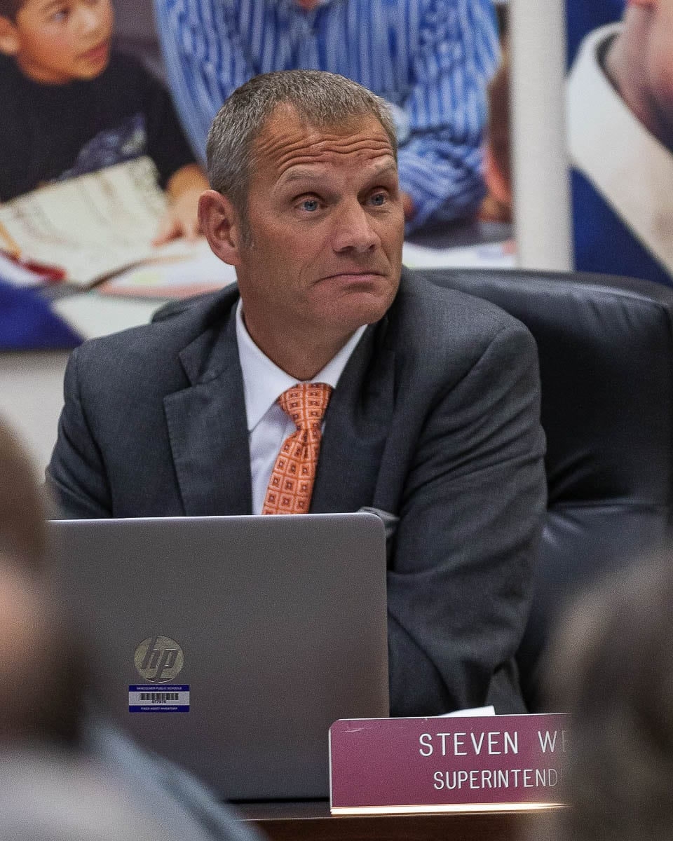 Vancouver Public Schools Superintendent Steve Webb was placed on administrative leave this week by the school board. File photo