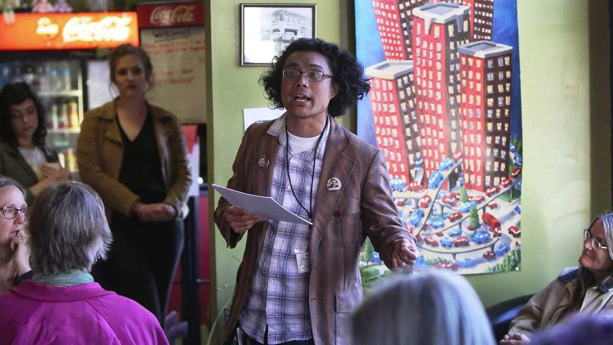 Armin Tolentino's poetic artistry has been widely recognized. He was a finalist for the Red Hen Press Benjamin Saltman Poetry Award and the Kundiman Poetry Prize, and a winner of the Oregon Poetry Association Poetry Contest. Photo courtesy of the Ellensburg Daily Record