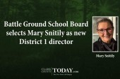 Battle Ground School Board selects Mary Snitily as new District 1 director