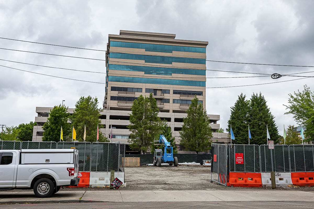 The Block 10 development in downtown Vancouver is one of several to recently qualify for a Multifamily Tax Exemption. File photo