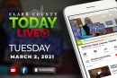 WATCH: Clark County TODAY LIVE • Tuesday, March 2, 2021