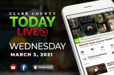 WATCH: Clark County TODAY LIVE • Wednesday, March 3, 2021