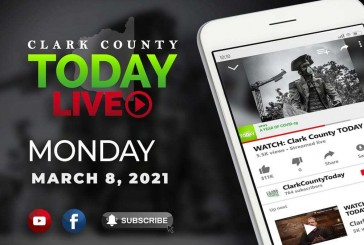 WATCH: Clark County TODAY LIVE • Monday, March 8, 2021