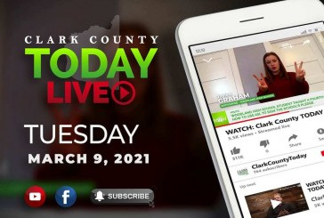 WATCH: Clark County TODAY LIVE • Tuesday, March 9, 2021
