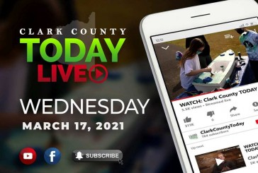 WATCH: Clark County TODAY LIVE • Wednesday, March 17, 2021