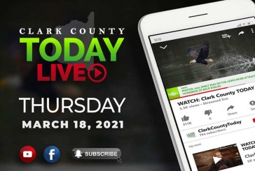WATCH: Clark County TODAY LIVE • Thursday, March 18, 2021