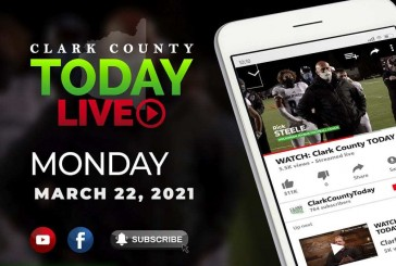 WATCH: Clark County TODAY LIVE • Monday, March 22, 2021