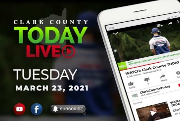 WATCH: Clark County TODAY LIVE • Tuesday, March 23, 2021
