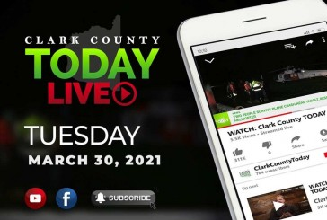 WATCH: Clark County TODAY LIVE • Tuesday, March 30, 2021