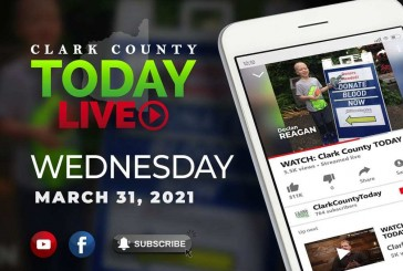 WATCH: Clark County TODAY LIVE • Wednesday, March 31, 2021