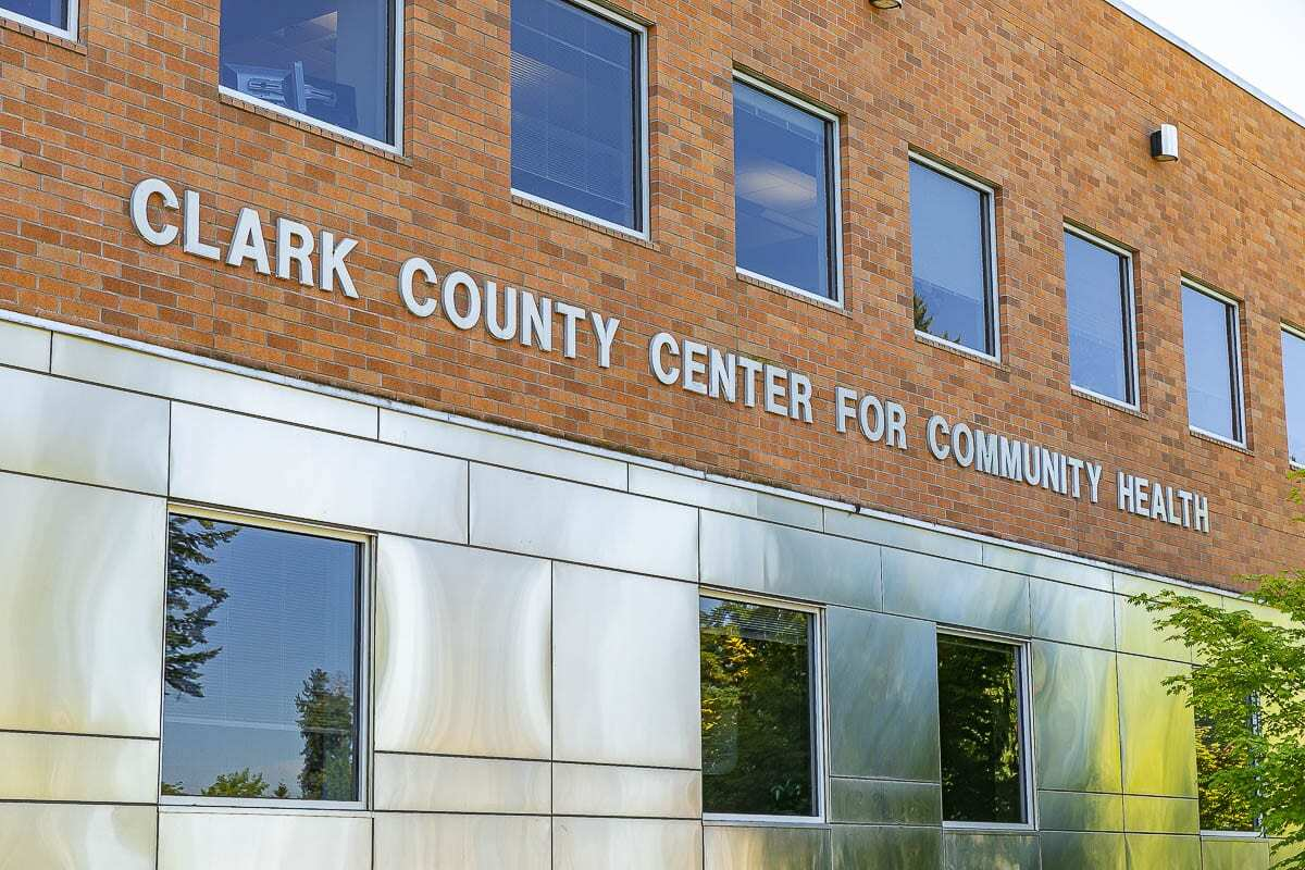 The Clark County Community Health building. File photo