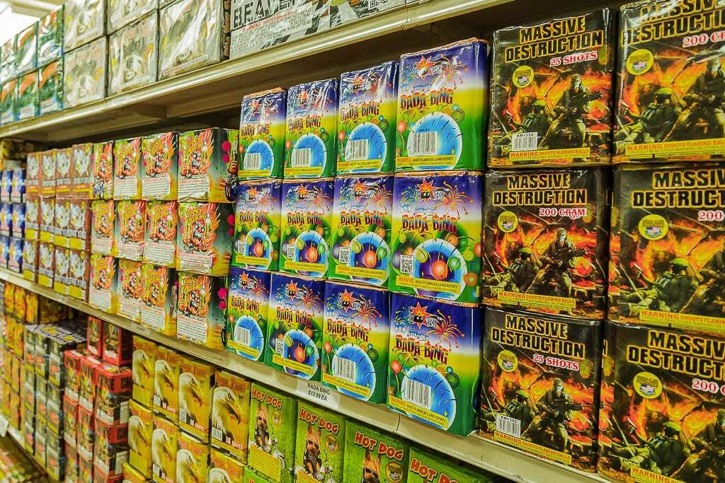 The Clark County Fire Marshal's Office is taking applications for three retail fireworks permits to be assigned by lottery to be held on Mon., April 5. File photo