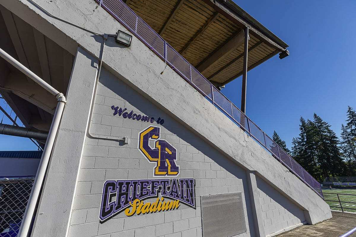 The Chieftains were the mascot for Columbia River High School since the school opened in 1962. That name has been retired by the school board, and the process to select a new name is ongoing. Photo by Mike Schultz