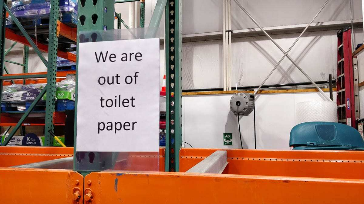 A long-running lack of toilet paper marked perhaps the most memorable part of the early pandemic. File photo