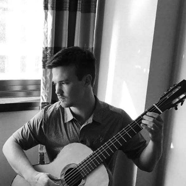 The Governors acoustic guitarist, Daniel Sarkela. Photo courtesy of The Governors