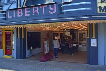 Liberty Theatre lights shine again