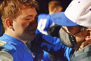 Football season ends too fast for six La Center High School seniors