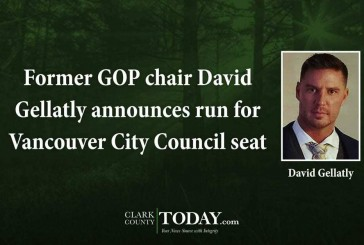 Former GOP chair David Gellatly announces run for Vancouver City Council seat