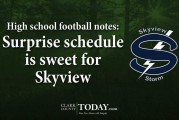 High school football notes: Surprise schedule is sweet for Skyview