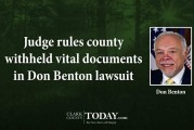Judge rules county withheld vital documents in Don Benton lawsuit