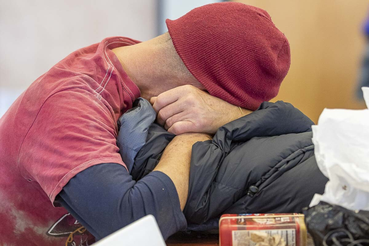 Homelessness remained relatively stagnant in Clark County last year, thanks to an influx of pandemic-related funding. File photo