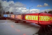 Female in custody jumps out of moving patrol car