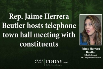 Rep. Jaime Herrera Beutler hosts telephone town hall meeting with constituents