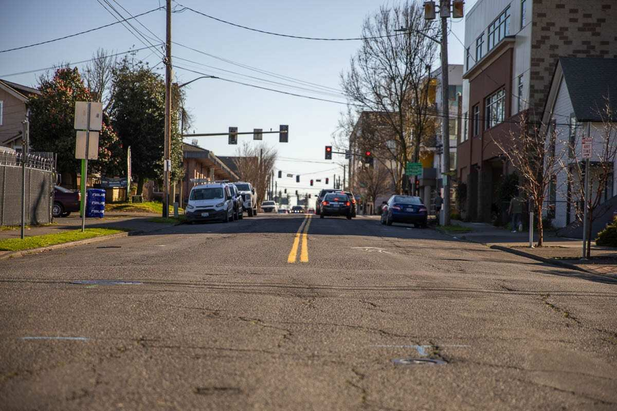 This year's program will include paving eight lane miles, including portions of Garrison Road, Columbia Street, Broadway Street, 5th Street and 1st Street. Photo by Jacob Granneman