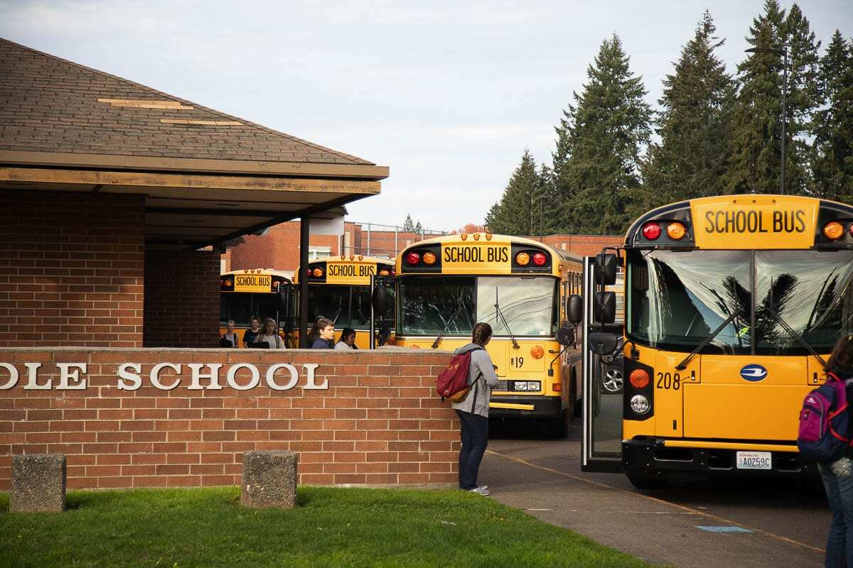 More students could soon be returning to classrooms in Clark County. File photo