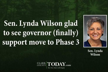 Sen. Lynda Wilson glad to see governor (finally) support move to Phase 3