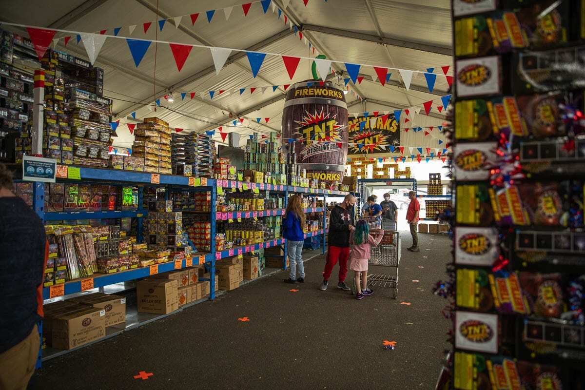 A group of voters has started the process of gathering signatures to put the issue of Safe and Sane Fireworks on the ballot this November. File photo