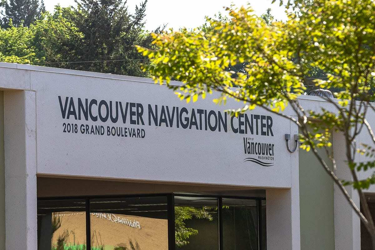 The Vancouver Navigation Center, previously home to a homeless day center, could be sold to Fort Vancouver Regional Library for a new administrative building. Photo by Mike Schultz
