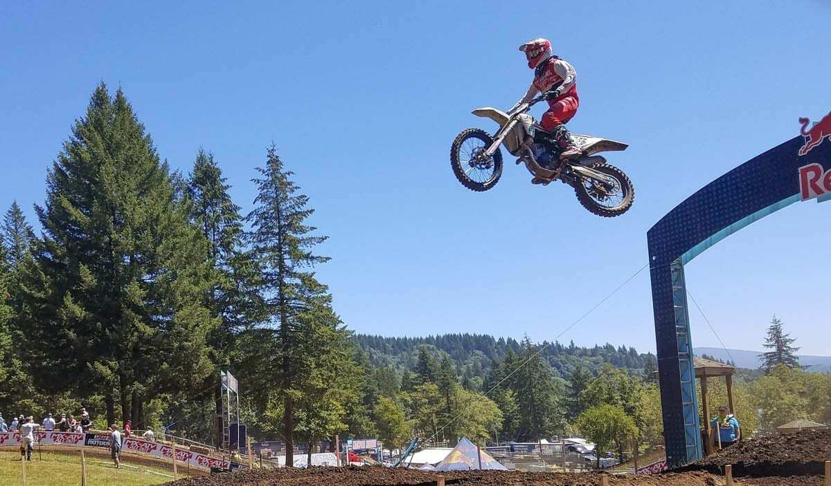 Professional riders come to Washougal every year for the National event, but Washougal MX Park is for amateurs as well. The sport and the park are passions of the Huffman family. Ralph Huffman, co-owner of the park, died Monday. Photo by Paul Valencia