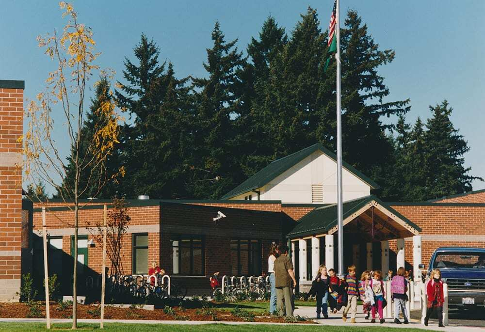 The members of the Vancouver Public Schools Board of Directors also retired the Chieftain name from Minnehaha Elementary School in September. Students have five choices for a new mascot -- Cedars, Mammoths, Martens, Mountains or Rapids. Photo courtesy of Vancouver Public Schools.