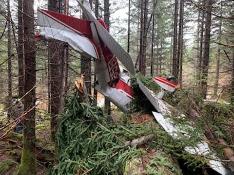 The names of the pilot and passenger are not being released at this time, and the NTSB should be contacted for any follow up questions regarding the cause of the crash or any specifics of the flight. Photo courtesy of CCSO