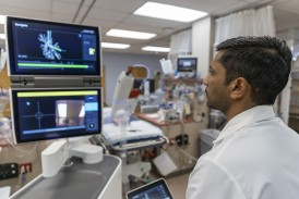 VIDEO: PeaceHealth first hospital in the pacific northwest to offer ION robotic assisted bronchoscopy