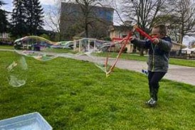 Columbia Play Project events encourage families to play together