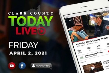 WATCH: Clark County TODAY LIVE • Friday, April 2, 2021