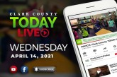 WATCH: Clark County TODAY LIVE • Wednesday, April 14, 2021