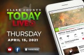 WATCH: Clark County TODAY LIVE • Thursday, April 15, 2021