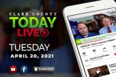 WATCH: Clark County TODAY LIVE • Tuesday, April 20, 2021