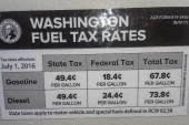 Gas tax increases, a carbon tax and a low carbon fuels tax part of legislature's transportation tax proposals