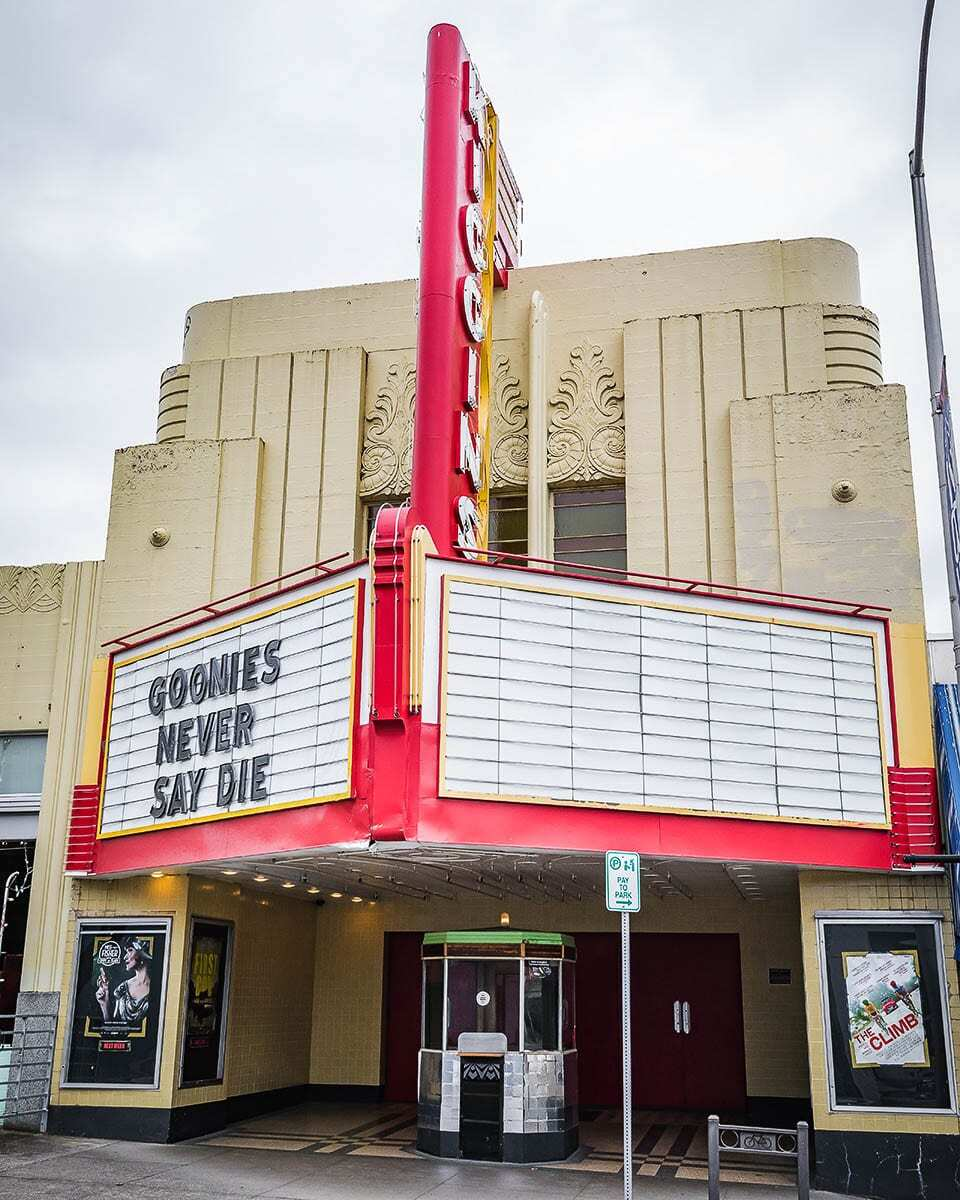 Area businesses, including movie theaters, most impacted by continued pandemic-related restrictions will benefit from a new program to refund the city of Vancouver's business license surcharge fee. File photo