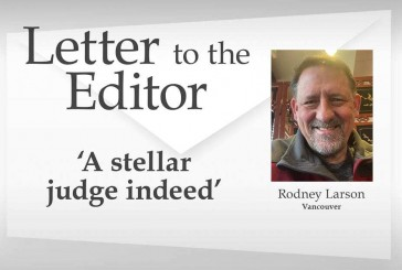Letter: 'A stellar judge indeed'