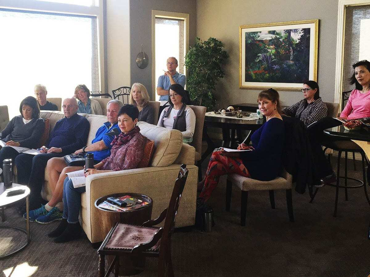An Oregon-based group is seen here a couple years ago going through the Heritage of Hope course together. Photo courtesy of Heritage of Hope