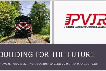 Portland Vancouver Junction Railroad seeks to advance rail dependent development in Clark County