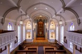 Providence Academy Chapel renovation wins Palladio Craftsman Award