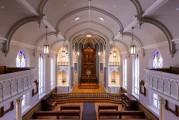 Providence Academy Chapel renovation wins Palladio Craftsman Award