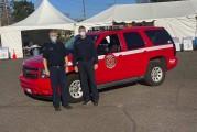 Vancouver Fire Department participates in COVID-19 vaccination clinics
