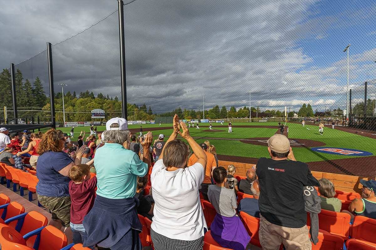 The Ridgefield Raptors are planning on having fans at their games this year but capacity will be limited. Social distancing will be required, as well. Photo by Mike Schultz